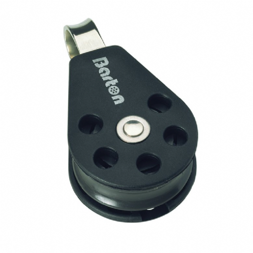 Barton 30mm (Size 1) Single Fixed Eye Block